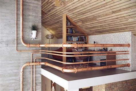 bureau pour professionnel loft au style industriel et cosy
