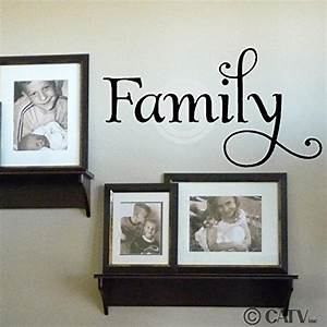 family wall decal roselawnlutheran With family lettering wall art