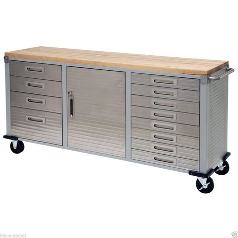 wooden kitchen rolling storage cabinet exceptional garage benches 2 wooden tool box rolling