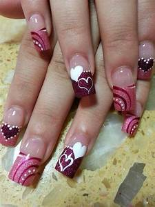 94 best Nail Extensions u0026 Gel and Acrylic Art images on Pinterest