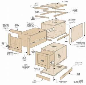 Modular File Cabinets Woodsmith Plans