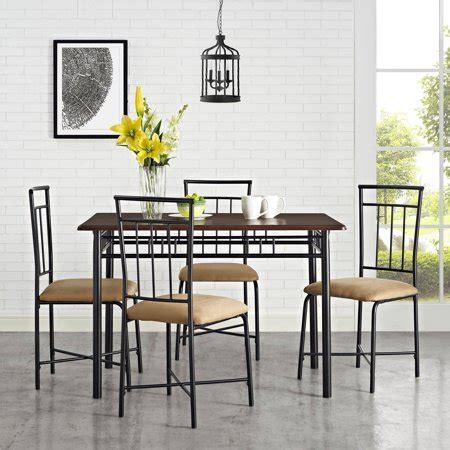 mainstays  piece dining set multiple colors walmartcom