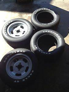 2 goodyear rally gt tires g60 15 raised white letters cuda With 13 white letter tires