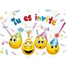 Amazon fr : carte invitation anniversaire enfant