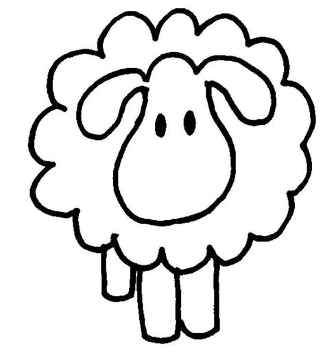 sheep  lamb coloring pages clipart  clipart