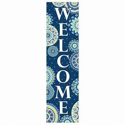 Welcome Banner Harmony Vertical Banners Eureka Classroom