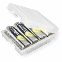 La Boite A Pile : boite de rangement pour 4 piles aa ou aaa ~ Dailycaller-alerts.com Idées de Décoration