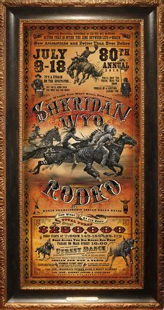 Bob Coronato - Paintings | Rodeo poster, Western posters ...