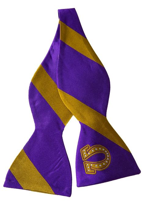 omega psi phi bowtie greek traditions