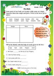 buy worksheets for class 1 environmental science evs