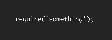Let's write our simple version of the require() function - Michele Nasti's blog