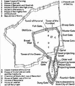 Maps Of Ancient Jerusalem  From King David To King Herod
