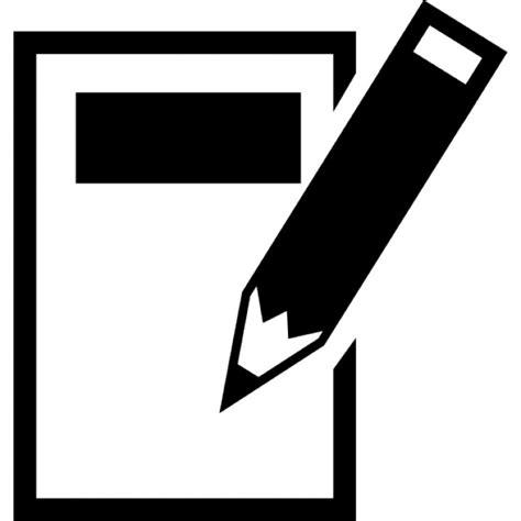 support smartphone bureau notitie en potlood iconen gratis