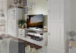 Möbel Nordischer Landhausstil : tv schrank landhaus lowboard fjord von jumek g nstig ~ Articles-book.com Haus und Dekorationen