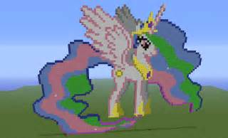 Minecraft My Little Pony Princess Celestia
