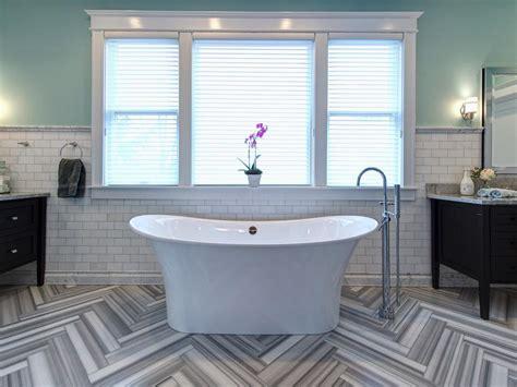 bathroom tile 15 simply chic bathroom tile design ideas hgtv