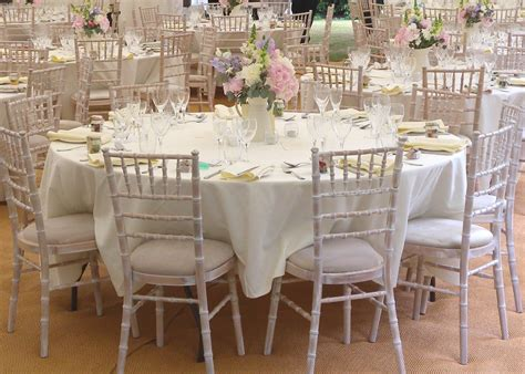 planning the wedding chair hire
