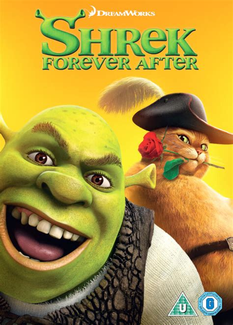 shrek    artwork refresh dvd zavvi