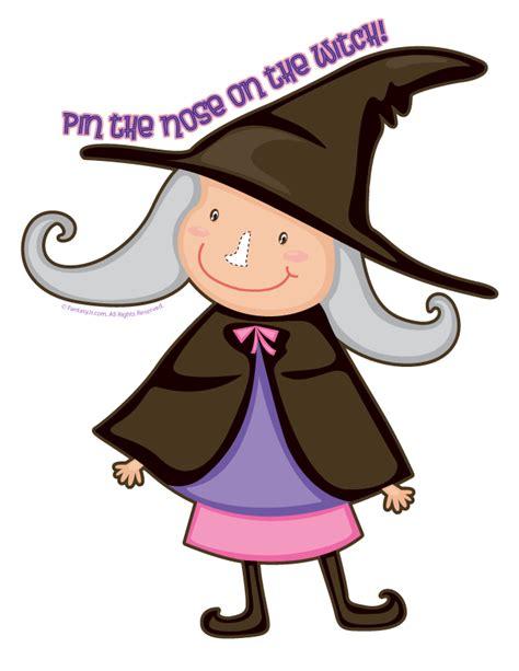 fantasy jr pin  nose   witch game