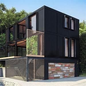Moderne Container Häuser : container containerhouse stuff container home desing ~ Lizthompson.info Haus und Dekorationen