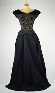 1940s Evening Dresses 1940s vintage evening dress ...