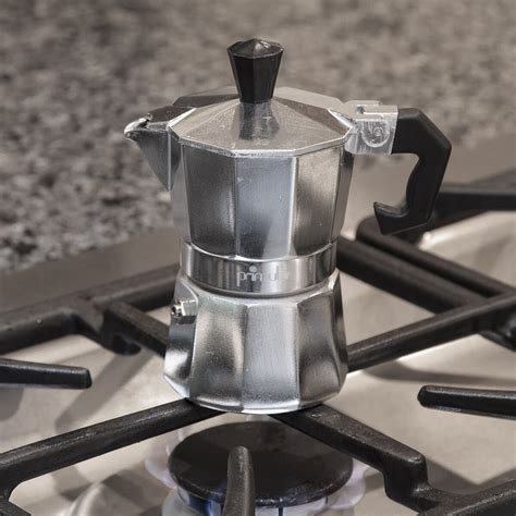 The uniformly brewed coffee and the layer of the foam is the unique coffee brew pattern of the moka. Primula Stove Top Aluminum Espresso Maker & Reviews   Wayfair