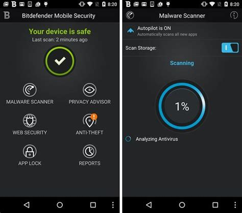 top five antivirus apps for android techarena top 5 best android antivirus applications