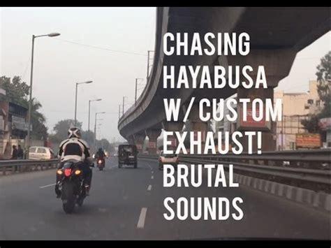 Bmw 650i Chasing Down A Suzuki Hayabusa W Custom Exhaust