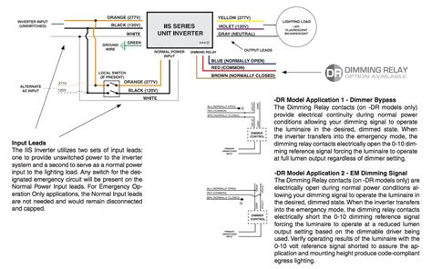 Iota Emergency Ballast Wiring Diagram Free