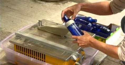Cutting Glass Bottles With Tile Saw by Cut Glass Bottles Easiest Way For Strait Edges For The