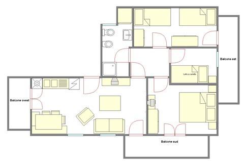 Piantine Appartamento by Progetti Di In Legno Casa 55 80 Mq