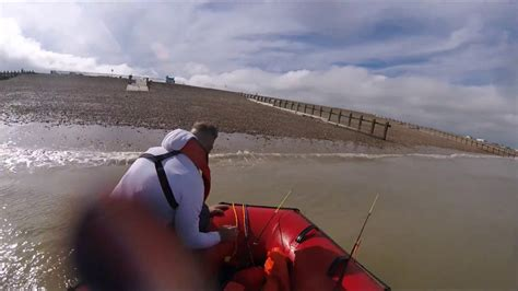 Inflatable Boat Fishing Youtube by Fishing From Inflatable Boat Youtube