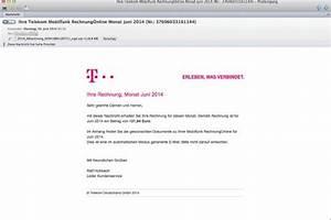 Telekom Rechnung Online Anschauen : phishing telekom f lschungen sehen t uschend echt aus die welt ~ Themetempest.com Abrechnung