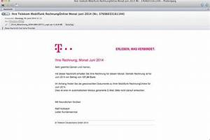 Falsche Telekom Rechnung : phishing telekom f lschungen sehen t uschend echt aus ~ Themetempest.com Abrechnung