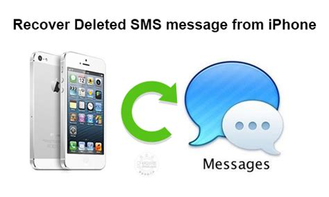 how to get deleted messages back on iphone recover deleted sms message from iphone without backup