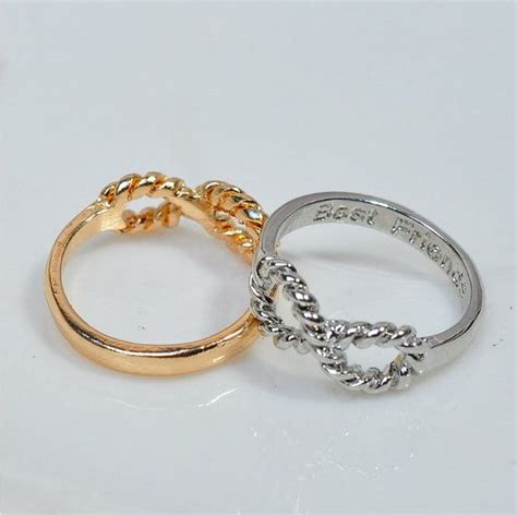 Friendship Rings For 3 25 Best Ideas About Best Friend Rings On Pinterest