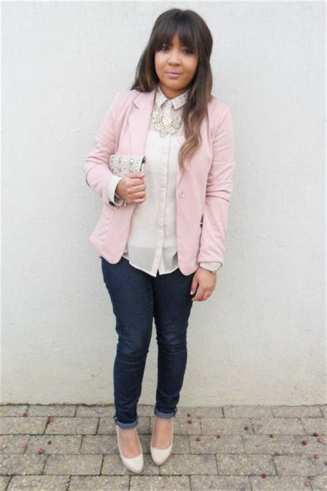 light pink blazer sandi pointe library of collections