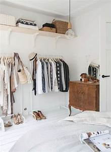 creer dressing dans petite chambre ciabizcom With comment installer un dressing dans une chambre