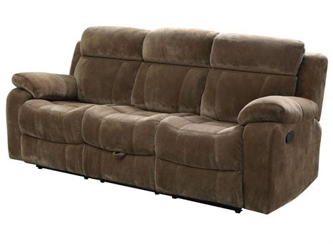 brown fabric recliner sofa brown fabric reclining sofa steal a sofa furniture
