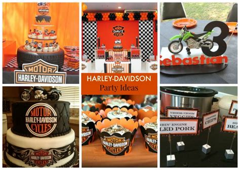 Harley-davidson Party Ideas For Young And Old