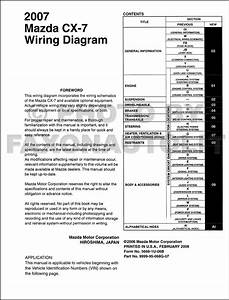 Mazda Cx 7 Audio Wiring Diagram