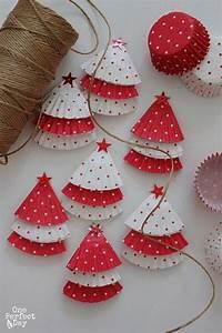 Weihnachten 2019 Mädchen : diy weihnachtsbaum ornamente papier ideen ~ Haus.voiturepedia.club Haus und Dekorationen