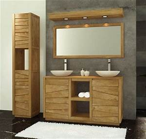 1000 images about idees de meubles pour vasques on pinterest With meuble sdb 1 vasque