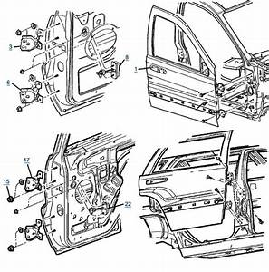 Jeep Cherokee Door Diagram