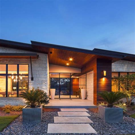 modern hill country contemporary design  heyl architects  custom built  heyl homes