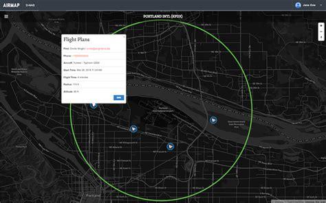 airmap unveils drone digital flight notice network
