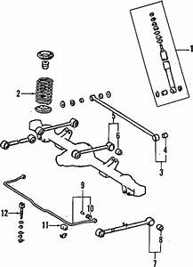 Genuine Oem Rear Suspension Parts For 1994 Toyota Land