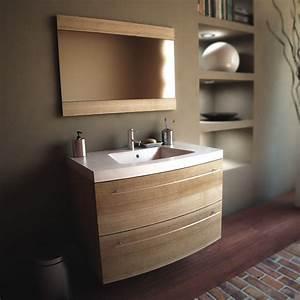 Plan Vasque Bois Brut : ambra double plan massif pierre vasque design surface placo blanc brut bain poser meuble salle ~ Teatrodelosmanantiales.com Idées de Décoration
