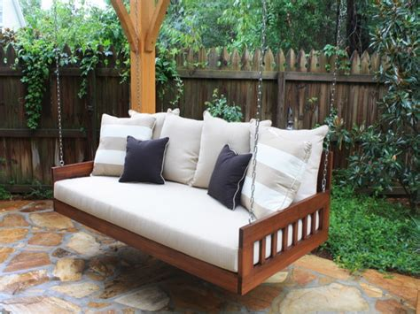 Outside Porch Furniture by Outdoor Patio Swing Furniture Designs