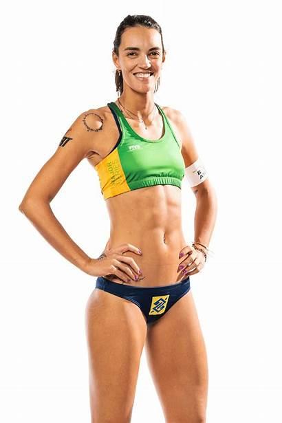 Fernanda Alves Berti Volleyball Beach Seixas Height